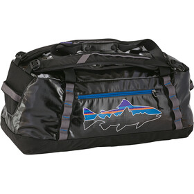 Patagonia Black Hole Duffel Bag 60L, black w/fitz trout